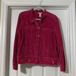 JJill Corduroy Button down jacket